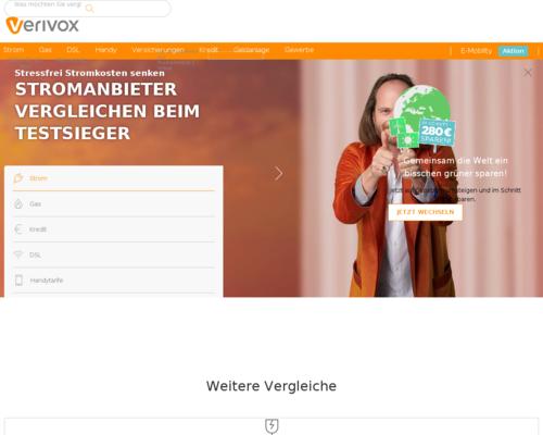 Web.de Gutschein Verivox